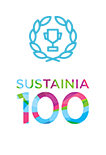 Sustainia 100 flag